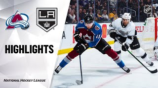 NHL Highlights | Avalanche @ Kings 2/22/20