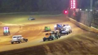 Dirt Track Cowboy finish 4th place