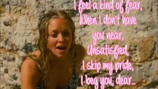 Mamma Mia The Movie-Lay All Your Love On Me-Lyrics Video (full song)
