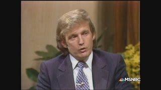 1980 Sensible Trump Vs  2016 Crazy Trump