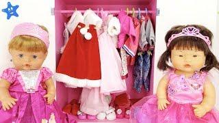 Ani y Ona ESTRENAN VESTIDOS de fiesta para NAVIDAD Muñecas y Juguetes Nenuco