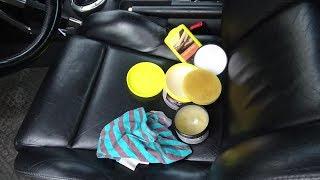 Auto Ledersitze reinigen und pflegen