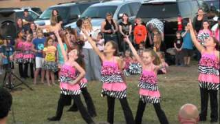Ritzy Glitz dance performance