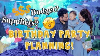 HOW TO PLAN A BIRTHDAY PARTY! | Blake's First Birthday SDE | Nins Po