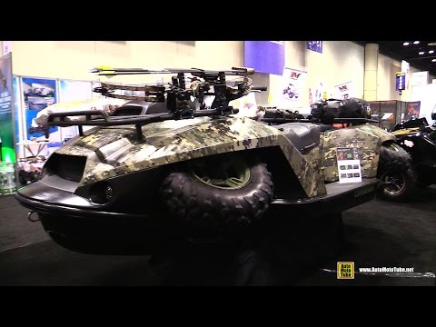 2016 Gibbs Quadski XL Amphibia Vehicle – Walkaround – 2015 AIMExpo Orlando