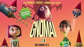 GNOMAI / Gnome Alone - lietuviškai dubliuotas anonsas