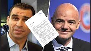 Contenu de la lettre FIFA pour la FAF