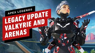 Apex Legends: Legacy - All Valkyrie abilities, Arenas Gameplay, & Bocek Details by IGN