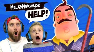Hello Neighbor Using YOUR COMMENTS! | KIDCITY GAMING
