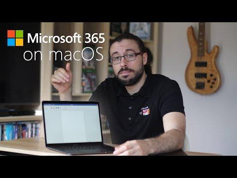 Microsoft 365 - What's it like on a Mac?