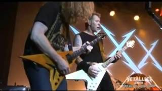 Metallica - Metal Militia y Hit The Lights w/Dave Mustaine