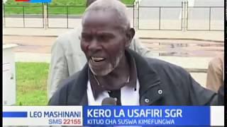 Usafiri wa SGR yakumbwa na kero huku kituo cha suswa kikifungwa