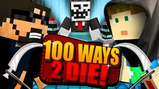 Minecraft: 100 WAYS TO DIE CHALLENGE - CRAINER DECIDES MY FATE!!