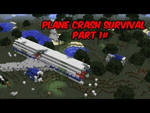 Download Minecraft Xbox 360 Plane Crash Survival Part 1 HD Mp4 3GP Video and MP3