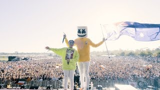 Marshmello Takes The Stage In The Land Down Under