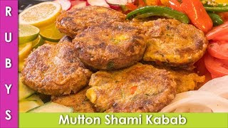 Mutton Shami Kabab Bakra Eid Recipe in Urdu Hindi  - RKK