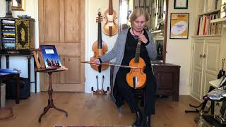 Treble Viol Elementary 3: Bow Distribution and Dynamics with Jacqui