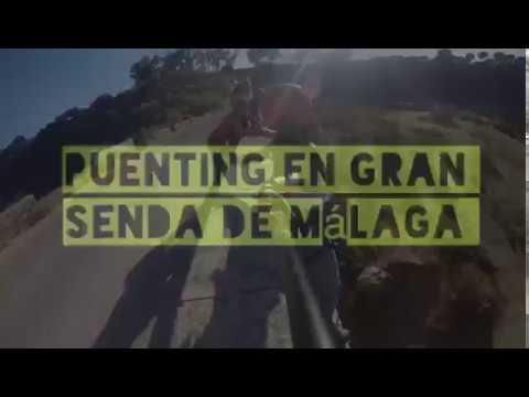Puenting en Gran Senda de Málaga