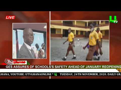 GES assures of schools' safety ahead of January reopening
