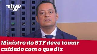 Jorge Serrão: Barroso fez brincadeira que não deveria ter feito