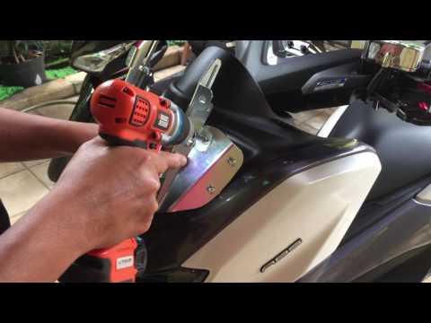 Video Pasang Bracket SerPo Untuk Yamaha Nmax