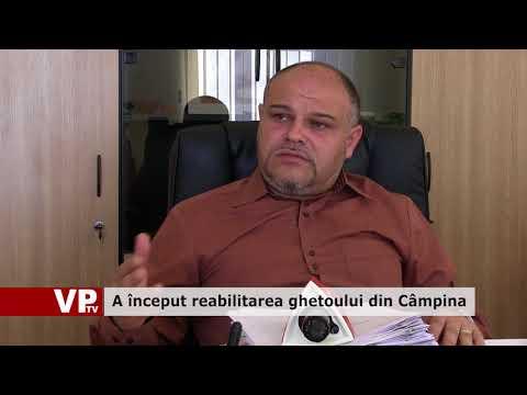 A început reabilitarea ghetoului din Câmpina