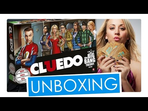 The Big Bang Theory Cluedo Unboxing | Winning Moves