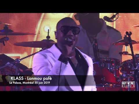 Lanmou Pafè - KLASS LIVE @ Le Palace Montréal 30 juin 2019