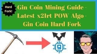 Gin Coin Mining Guide - Latest x16rt POW Algo - Gin Coin Hard Fork