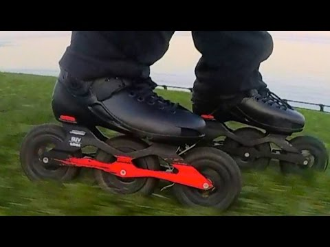 Off Road Inline Skate,  Powerslide Metropolis SUV Skate Review By Bill Stoppard