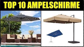 TOP 10 AMPELSCHIRME ★ Ampelschirm Test ★ Ampelschirm 2018 ★ Ampelschirm Rhodos, Ampeschirm Schneider