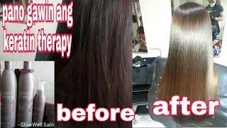 tutorial alfaparf milano keratin therapy