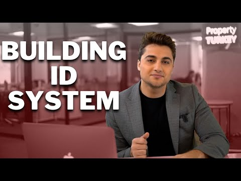 ID Cards for Buildings in Turkey