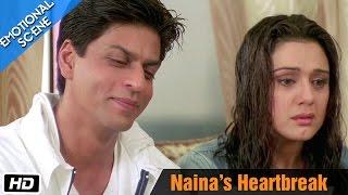 Naina's heartbreak - Emotional Scene - Kal Ho Naa Ho
