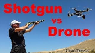 Shotgun vs Drone Airframe - UAV Torture Test by Aerial Sports League
