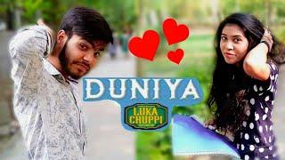 Luka Chuppi: Duniyaa Cover Video Song  Kartik Aaryan Kriti Sanon  Akhil   Dhvani Bhanushali
