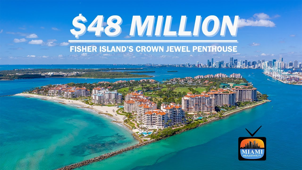 Episode 8: Fisher Island's Crown Jewel Penthouse; Penthouse 2 at Palazzo Della Luna, Asking $48M