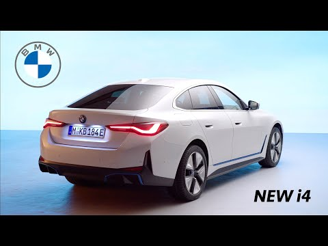 BMW i4 2022 - FIRST Look at FULLY ELECTRIC 4 door Gran Coupé (Range, Power)