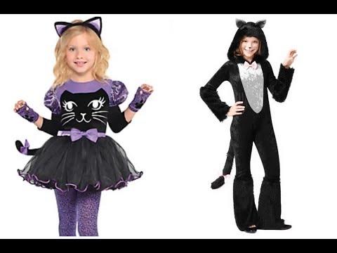 Disfraces de Gatos para niños faciles de hacer
