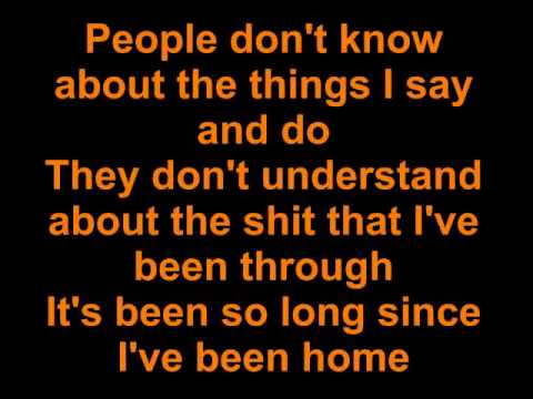 kid rock only god knows why  lyrics video