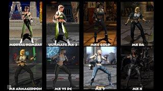 Mortal Kombat SONYA BLADE Graphic Evolution 1992-2015 | ARCADE DREAMCAST PS2 XBOX PC | PC ULTRA