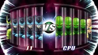 Dragon Ball: Raging Blast 2 | Perfect Cell Family Vs Nappa Family
