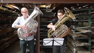 Øystein Baadsvik And Matthias Hoffmann At Miraphone