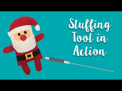 Easy Holiday Softie with our Stuffing Tool! | Sizzix