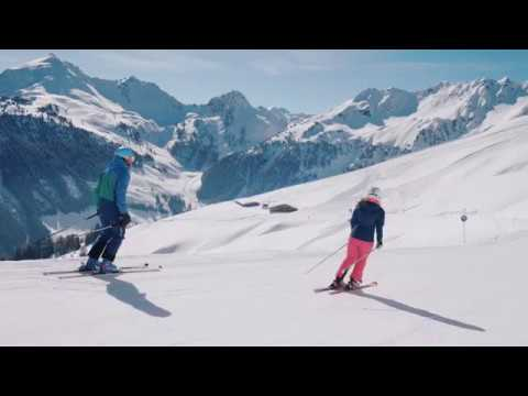 Sonnenskilauf im März 2018 im Ski Juwel Alpbachtal Wildschönau