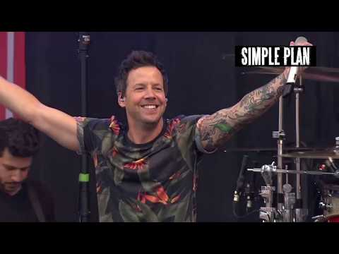Simple Plan at Rock AM Ring Festival 2017