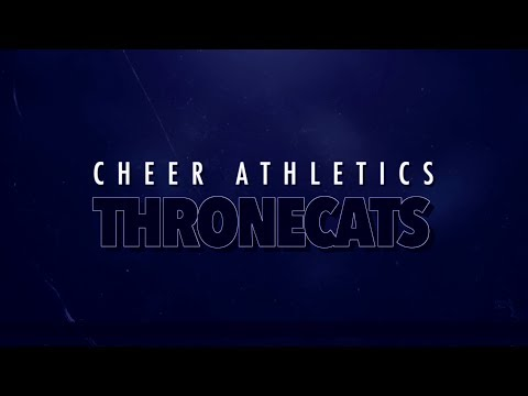 Cheer Athletics Thronecats 2019-20
