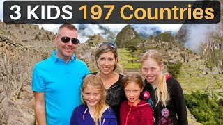 3 Kids | 197 Countries (The Travel Family)