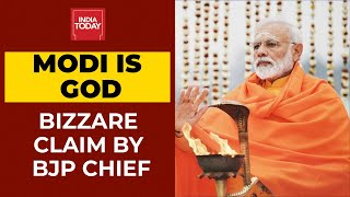 Modi Is God Claim: Prime Minister Modi Is Like God, Says Delhi BJP Chief Adesh Gupta| Breaking - Download this Video in MP3, M4A, WEBM, MP4, 3GP