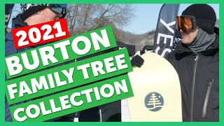 2021 Burton Family Tree Snowboard Collection Sneak Peek